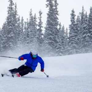 Prevent knee injuries in skiing